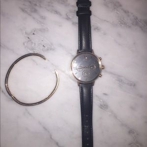 MVMT Accessories - MVMT Rose Gold watch and bangle